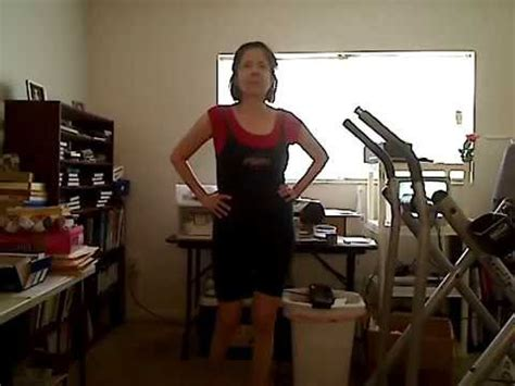 gail's work out (waist) youtube