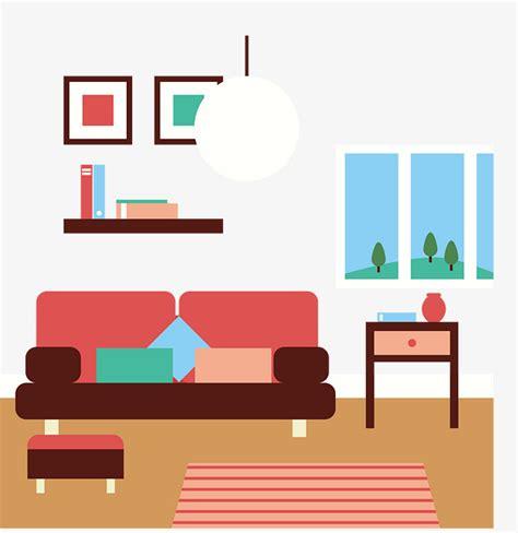 room layout vector interior landscape living room sofa vector interior