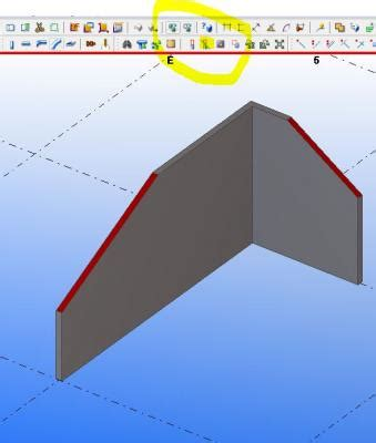 sloped top of concrete panel or wall | tekla campus