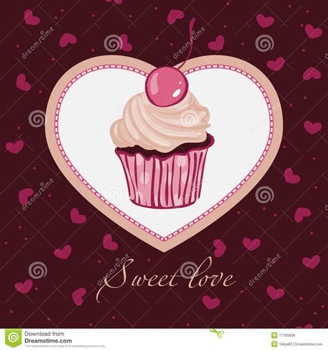 sweet love template design  card royalty  stock