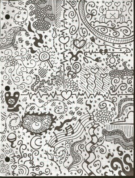 doodle 2 white black and white doodle by skileet44 on deviantart