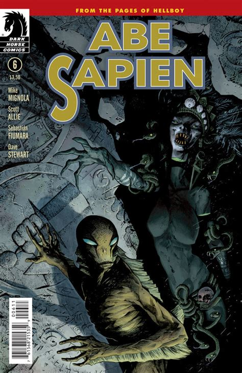 abe sapien dark and abe sapien 6 profile dark horse comics