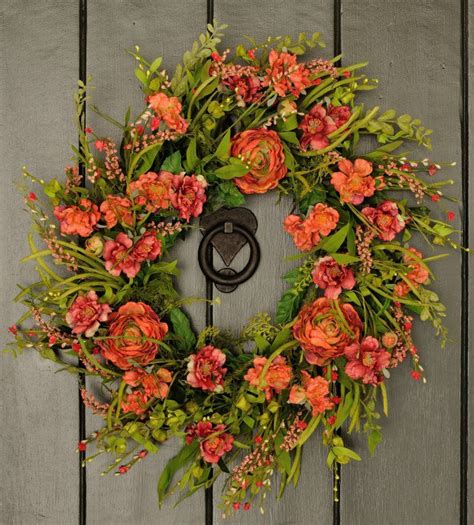 spring wreath for front door 16 adorable handmade spring wreath ideas to adorn your