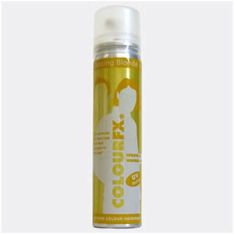 X Pert Hair Spray Color 75ml blazing colourfx coloured hairspray 75ml