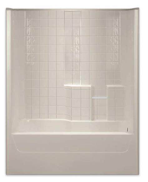 Aquarius Shower by Aquarius Bathware G3206tstilerwht Tile Wall Tub Shower