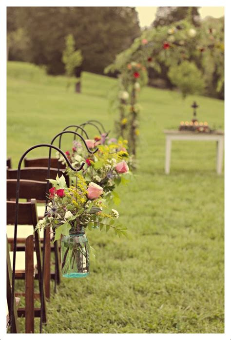outdoor ceremony decor eye candy chelsey s wedding