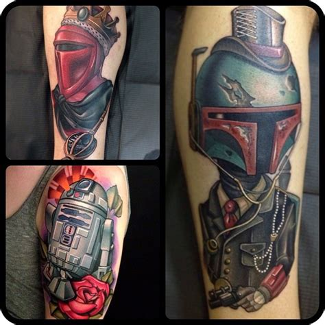 new school realism tattoo amazing new school star wars tattoo best tattoo ideas