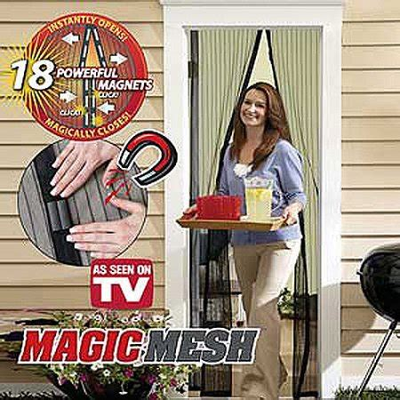 As Seen On Tv Patio Door Screen by As Seen On Tv Window Magnetic Screen Door Magic Mesh Cover