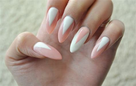 triangle pattern on nails best white wedding nails ideas gels for brides fmag com