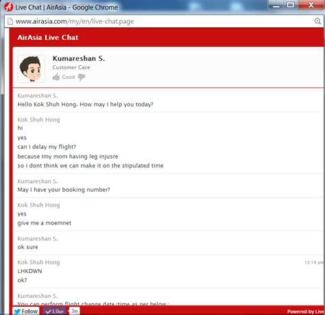 airasia live chat maple s diary experience of using air asia live chat