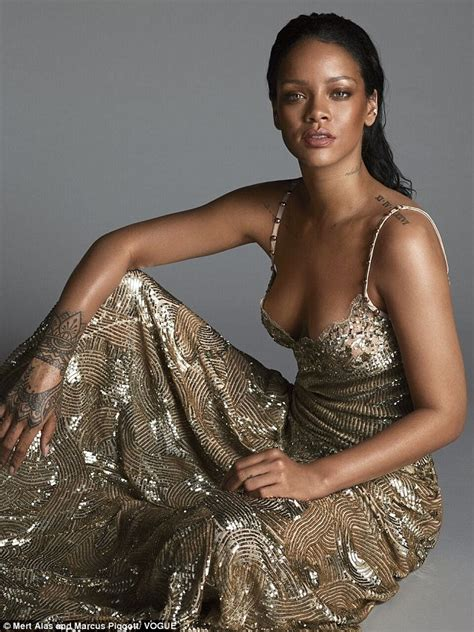 rihanna tells vogue it will be hard to date on tour as she