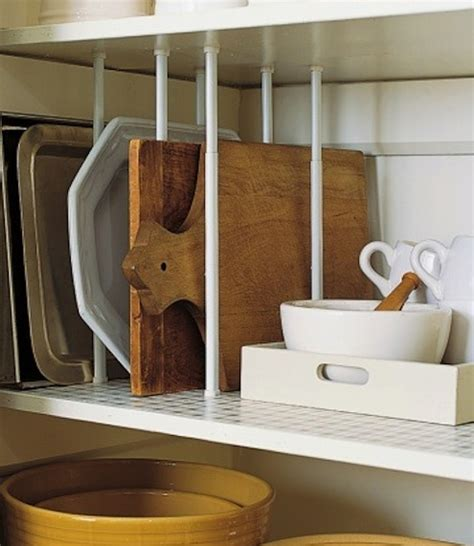 Kitchen Shelf Dividers by Diy Kitchen Storage 7 Clever Quot Hacks Quot To Try Curtain