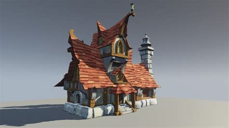 wow house fantasy house based on wow concept polycount forum house pinterest house