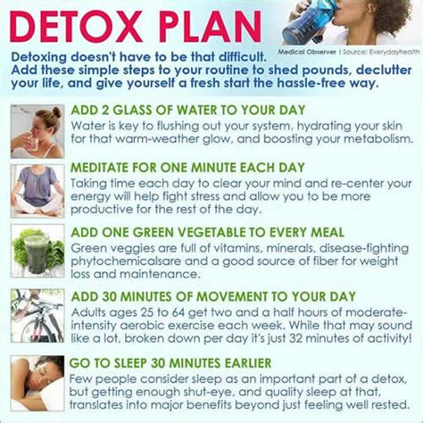 Detox Advice by Detox Plan Daily Inspirations For Healthy Living