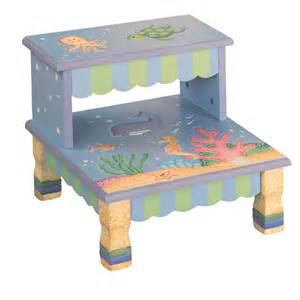 wooden step stool the sea baby n toddler