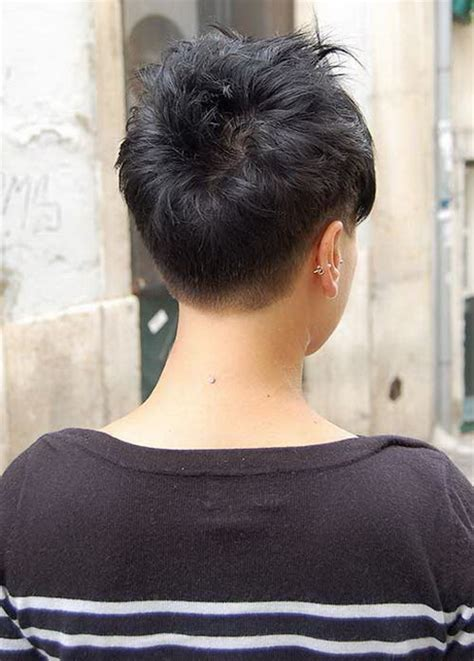 images of pixie haircuts from the back back view of pixie haircuts