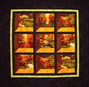 Changing Seasons Attic Windows Quilt   FaveQuilts.com