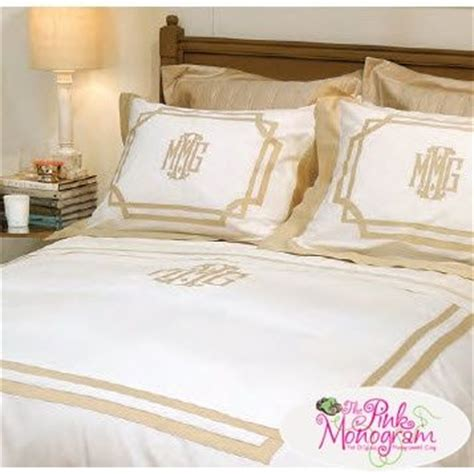 17 best ideas about monogram bedding on
