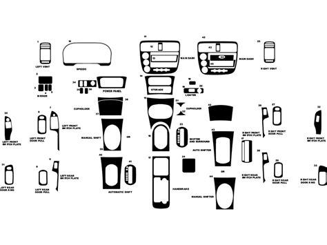 2002 honda civic dash diagram civic free printable wiring