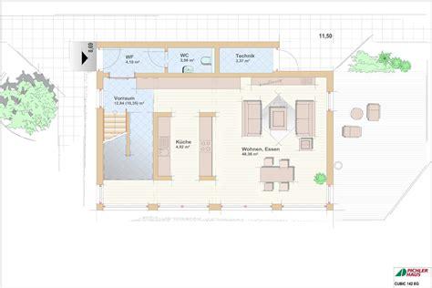 cubic haus preise modernes fertighaus typenhaus cubic mit flachdach vom