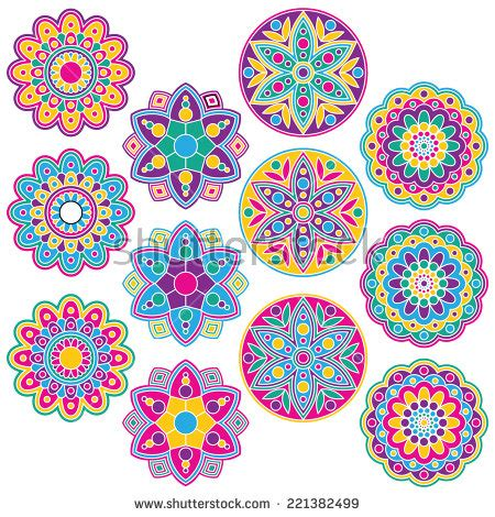 rangoli designs stock images, royalty free images