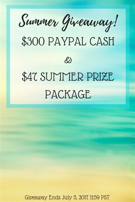 summer prize package giveaway shepherds and chardonnay - Summer Giveaway