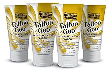 how to use tattoo goo lotion tattoo goo aftercare lotion for healing protection 2oz