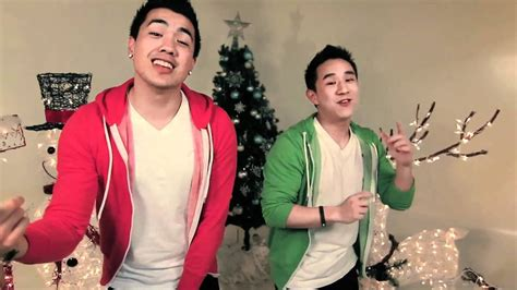 merry christmas happy holidays cover nsync joseph vincent jason chen youtube