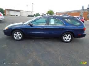 2001 Ford Taurus Wagon Medium Royal Blue Metallic 2001 Ford Taurus Se Wagon