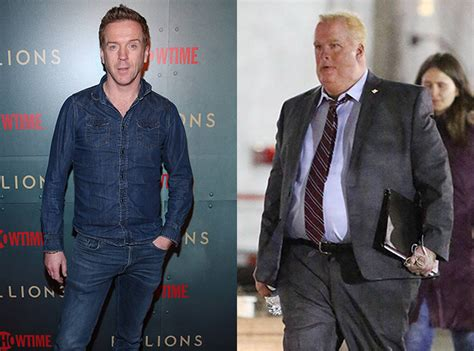 I Run This Town Suit damian lewis is unrecognizable as he dons a suit to play former toronto mayor