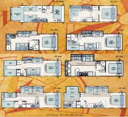 Surveyor Travel Trailers Floor Plans by Forest River Surveyor Travel Trailer Floorplans