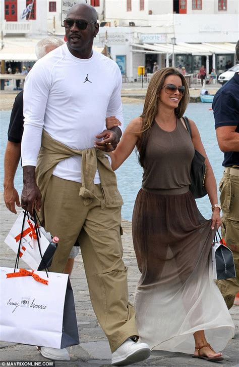 Micheal Jordan and his new bride on a luxury honeymoon in
