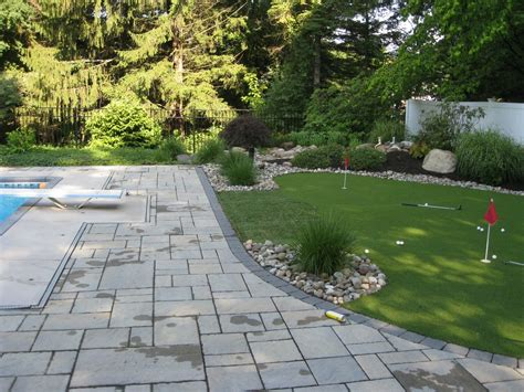 Existing Pool Landscape Plan Latham Ny Landscaping And Landscaping Albany Ny