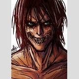 Attack On Titan Eren Titan Form Face   600 x 849 jpeg 117kB