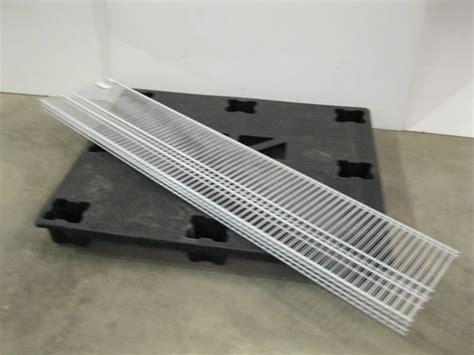 Closetmaid 3 Foot Wire Utility Shelf Closetmaid Superslide 6 X 16 Quot Wire Shelf Set Of 3