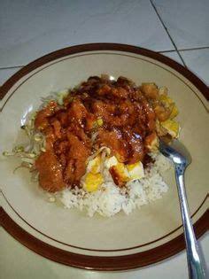cara membuat nasi uduk ala chef juna nasi rames empal ayam suwir pecel sayur kering tempe