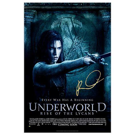 film underworld ordre rhona mitra autographed 27x40 original d s underworld rise
