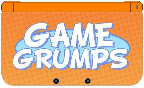 game grumps layout nintendo 3ds xl game grumps edition by thewolfbunny on