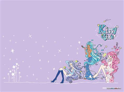 korean cute cartoon wallpaper korean cartoon wallpapers kissy girls