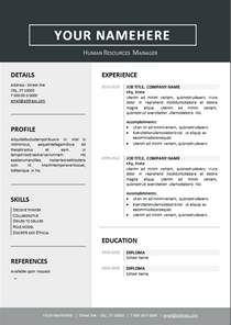 10 best resume templates you 10 best resume templates you can free ms word