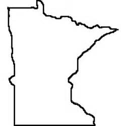 Large Outlines Of States by State Of Minnesota Outline Map Rubber St Clipart Best Clipart Best