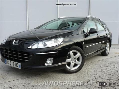 peugeot 407 estate 2011 peugeot 407 sw 1 6 hdi pack limited car photo and specs