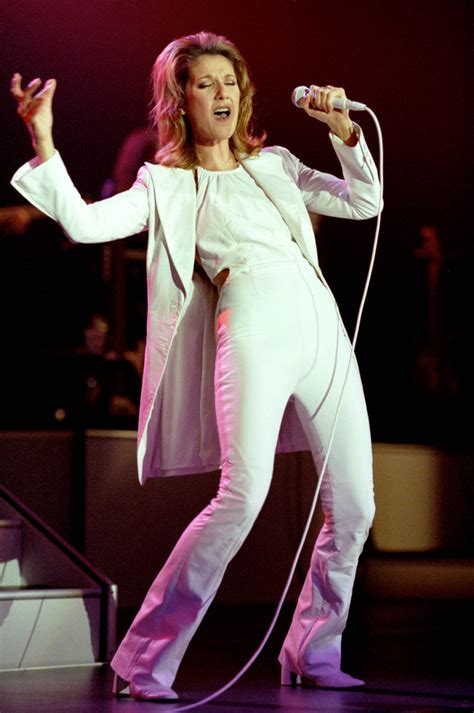 celine dions  typically celine dion outfits