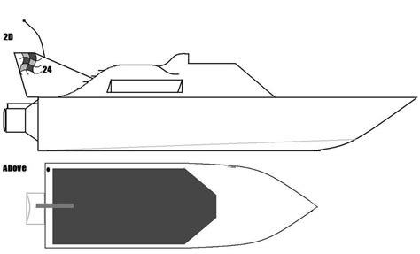 rc boat drawing attachment browser boat plan 2d above jpg by