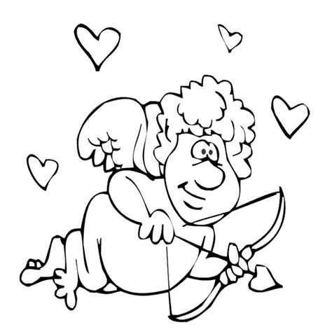 cupid coloring pages cupid coloring pages 360coloringpages