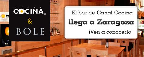 canal cocina concursos concurso bar canal cocina en zaragoza canal cocina