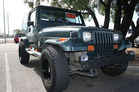 used jeep for sale by owner 1993 jeep sahara wrangler sold for sale by owner