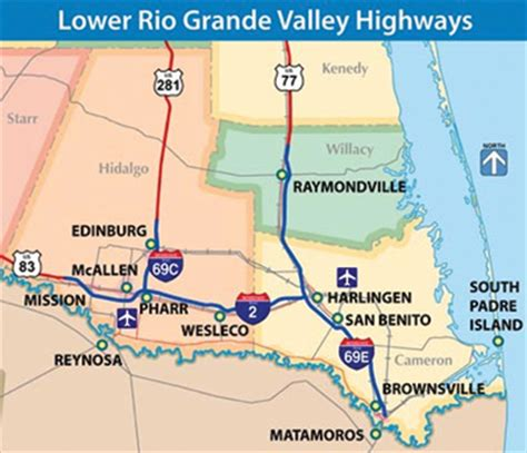 grande valley texas map i 69 makes history in grande valley as south texas interstate highway los fresnos news