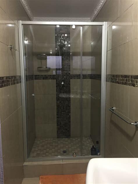 Mirage Pivot Wide Centre Access Frameless Shower Door With Mirage Shower Doors