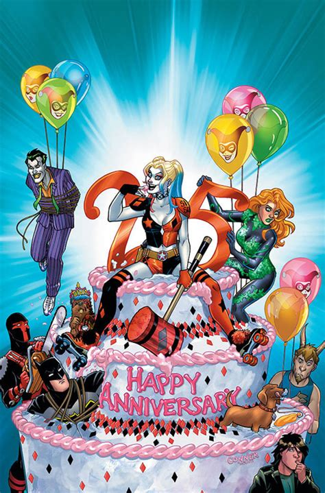 harley quinn a celebration of 25 years dc celebrates 25 years of harley quinn with the harley